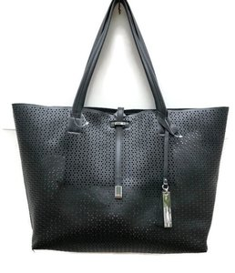 Vince Camuto Leather Leial Tote in Black