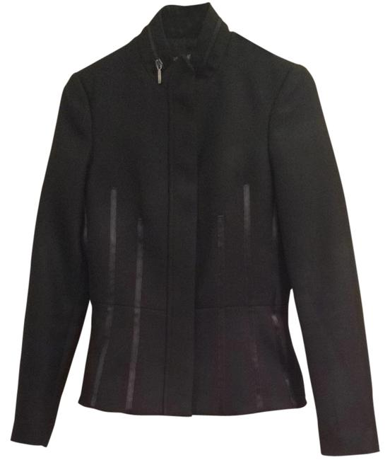Preload https://item1.tradesy.com/images/marciano-black-blazer-size-4-s-2301425-0-0.jpg?width=400&height=650