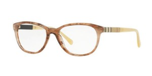 Burberry New Burberry Women Eyeglasses BE2172 3612 Brown Frame Demo Lens 54mm