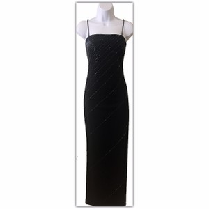 De Laru by Sheila Yen Gown Full Length Sparkle Sleeveless Dress