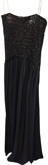 Item - Black/Nude Gown-nwt Long Formal Dress Size 4 (S)