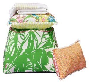 Lilly Pulitzer Lilly Pulitzer for Target Decorative Pillow Giraffing Me Crazy NWT