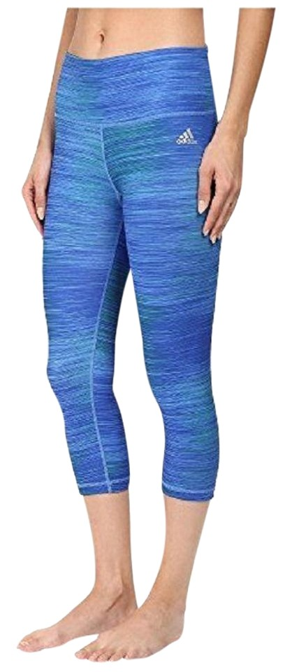 reputable site fcd49 6edcc adidas ADIDAS Women s Performer Mid-Rise 3 4 Tights Leggings Workout Pants  Image 0 ...