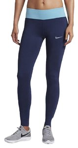 Nike NIKE Power Essential Women's Leggings 831659-429 Workout Pants Blue