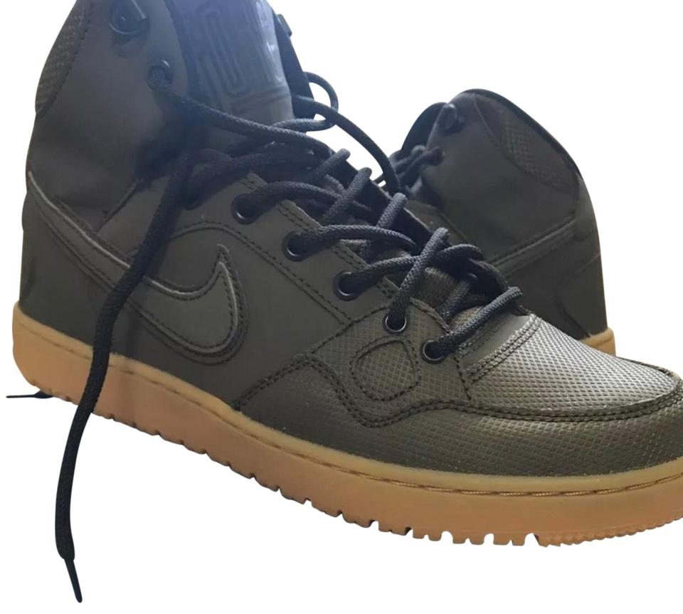 Nike Army Green Son Of Force Mid Winter Sneakers Size US 8 Regular (M, B) 52% off retail