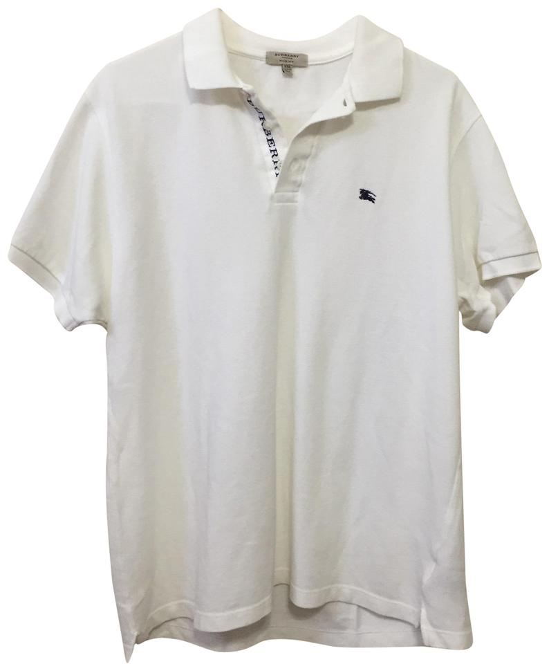 ea4c5f39 Burberry White Men's Polo Xxl Button-down Top Size OS (one size) -