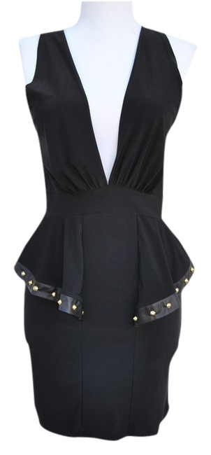 Preload https://item1.tradesy.com/images/sabora-black-sexy-above-knee-cocktail-dress-size-petite-4-s-2301570-0-0.jpg?width=400&height=650