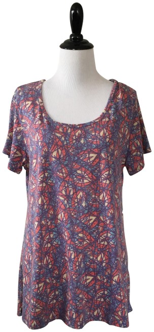 Item - Blue and Pink Classic T Tee Shirt Size 10 (M)