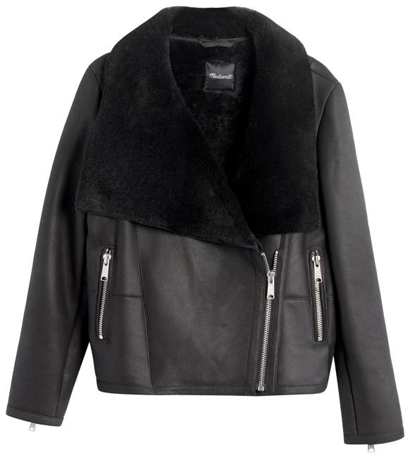 Preload https://img-static.tradesy.com/item/23015875/madewell-black-shearling-motorcycle-leather-jacket-size-10-m-0-1-650-650.jpg