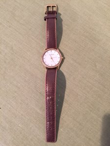 Skagen Denmark Skagen brown metalic watch with gold hardware
