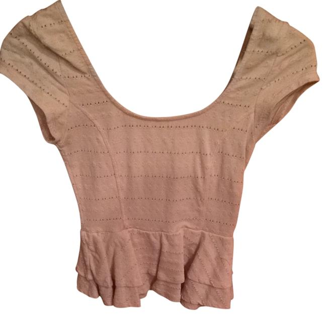 Preload https://item5.tradesy.com/images/lucca-couture-blush-pink-peplum-blouse-size-8-m-2301599-0-0.jpg?width=400&height=650