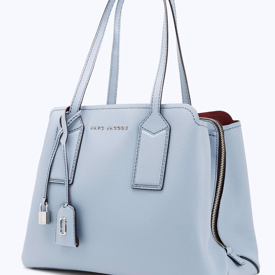 c4b53d3735ce Marc Jacobs The Editor Light Blue Leather Tote - Tradesy