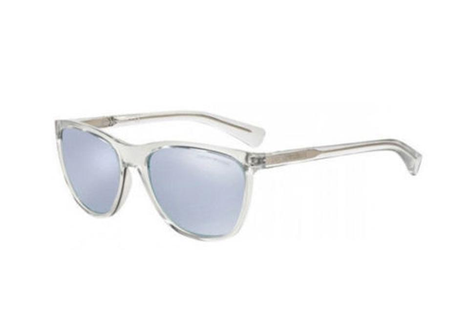 Emporio Armani Clear & Grey Men Ea4053 5371/6j Frame Lens Sunglasses ...