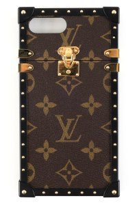 Louis Vuitton Louis Vuitton Brown Monogram Eye-Trunk iPhone 7+ Case