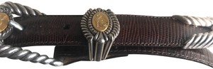 Brighton Gold/silver classic Vintage Belt. style #37809
