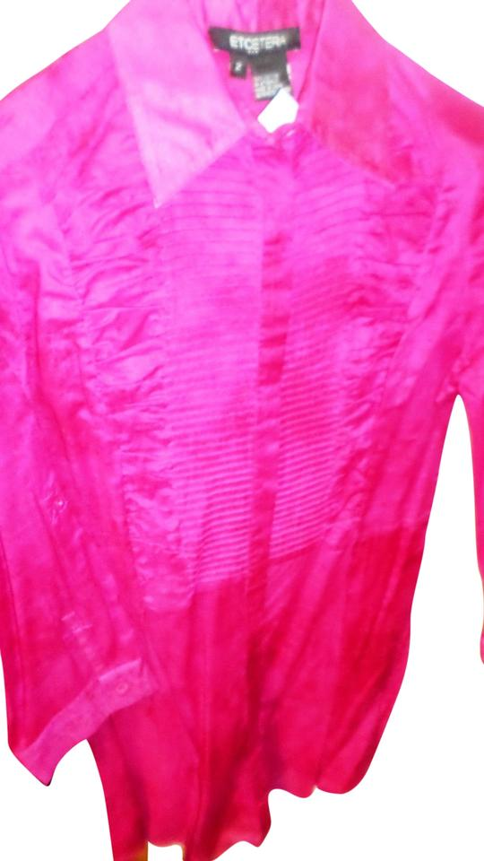 216af491992937 Etcetera Fuschia Pink Blouse Size 2 (XS) - Tradesy