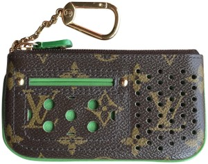 Louis Vuitton Rare Key Pouch Monogram Perforated