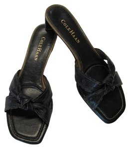 Cole Haan Size 6m BLACK Sandals