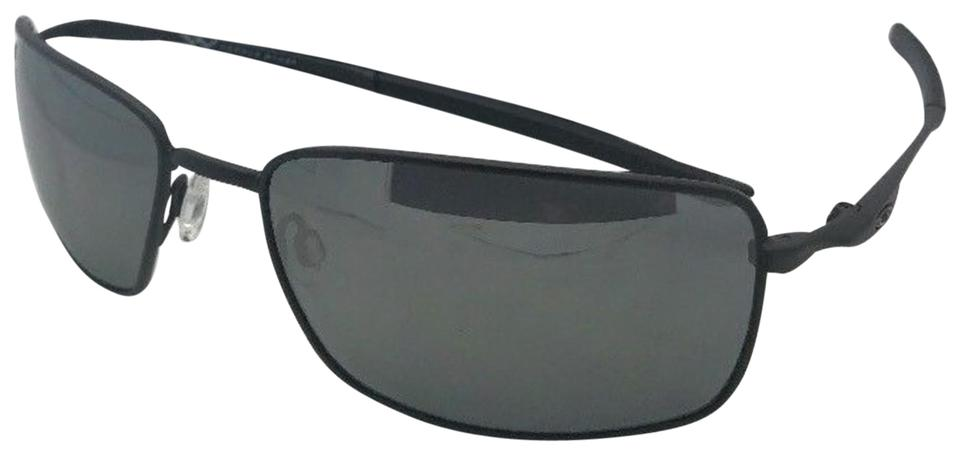 157260797de Oakley Polarized OAKLEY Sunglasses SQUARE WIRE OO4075-05 Matte Black w   Black Image 0 ...