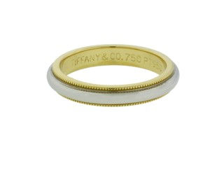 Tiffany & Co. Tiffany & Co Milgrain band in platinum & 18k yellow gold