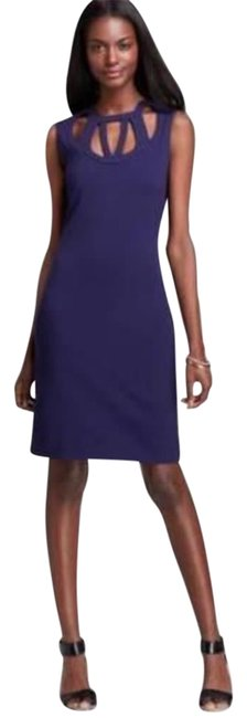Item - Purple Haze Jersey Dvf Amy Cutout Sleeveless Short Night Out Dress Size 6 (S)