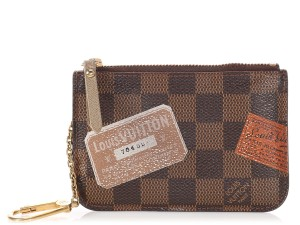 Louis Vuitton DAMIER EBENE TRUNKS AND BAGS COMPLICE CLES Wallet