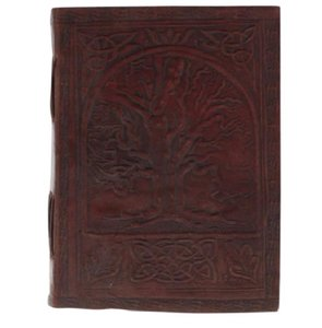 artisan journal Brown Genuine Leather Tree Of Life Journal Sketch Book Diary
