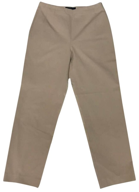 Piazza Sempione Tan Stretchy Cotton Casual 42 Pants Size 6 (S, 28) Piazza Sempione Tan Stretchy Cotton Casual 42 Pants Size 6 (S, 28) Image 1