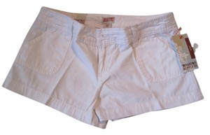 Mossimo Supply Co. Cargo Mini/Short Shorts White