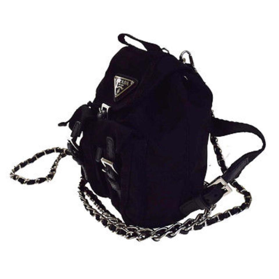 7b7d3e31574a83 ... switzerland prada vela mini backpack black nylon cross body bag tradesy  65a86 3d583