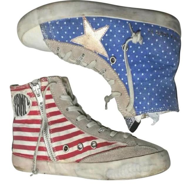 Item - Red White and Blue Sneakers Size EU 38 (Approx. US 8) Regular (M, B)