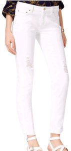 Michael Kors Straight Leg Jeans-Distressed