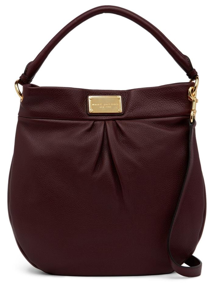 a88af4a2d8d Marc Jacobs Hillier Pebble Leather Hobo Purse Classic Hobo Crossbody Shoulder  Bag Image 0 ...