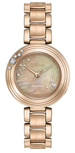 Citizen Citizen Women's Carina Mother of Pearl Dial Watch EM0463-51Y