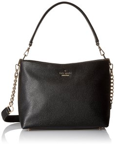 Kate Spade New York Emerson Lane Small Ryley Leather Shoulder Caviar Rich Leather Cross Body Bag
