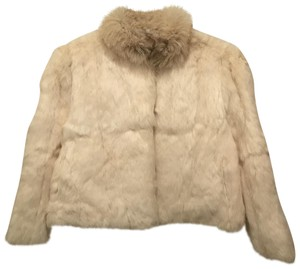 Sergio Valente Rabbit Jacket Real Fox Fur Coat