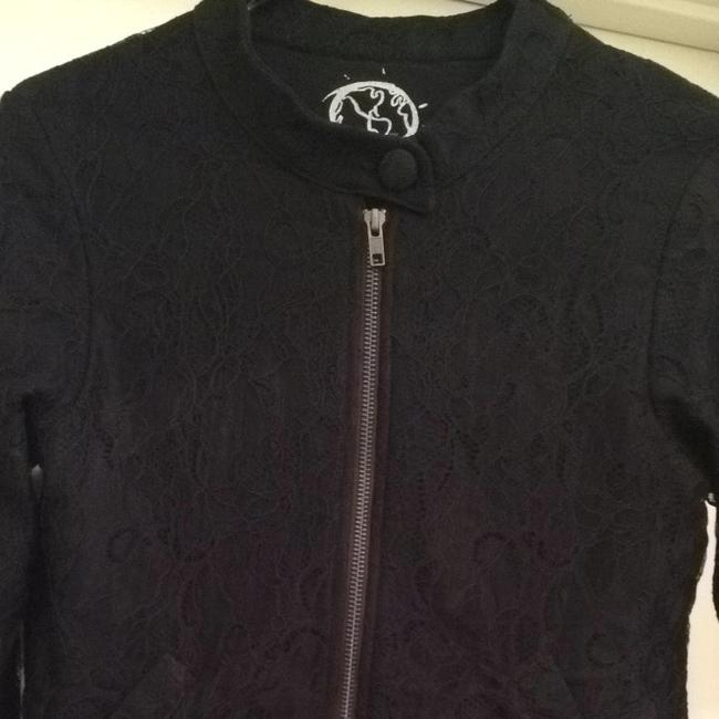 Other Planetblue Zip Designer Fashion Beverlyhills Design Fashions Black Lace Jacket