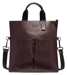 Coach Tote in BLACK ANTIQUE NICKEL/OXBLOOD
