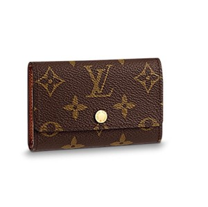 Louis Vuitton monogram six key holder