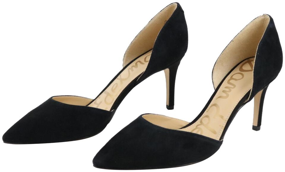 d9f20aecd Sam Edelman Black Telsa  D orsay Pointy Toe Pumps Size US 7.5 ...