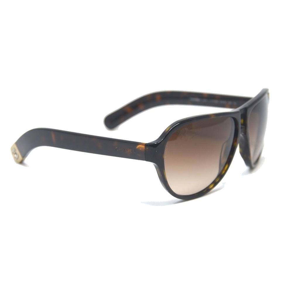 2b081968b4f02 Chanel Chanel 5233 Tortoise Shell CC Brown Sunglasses Image 0 ...