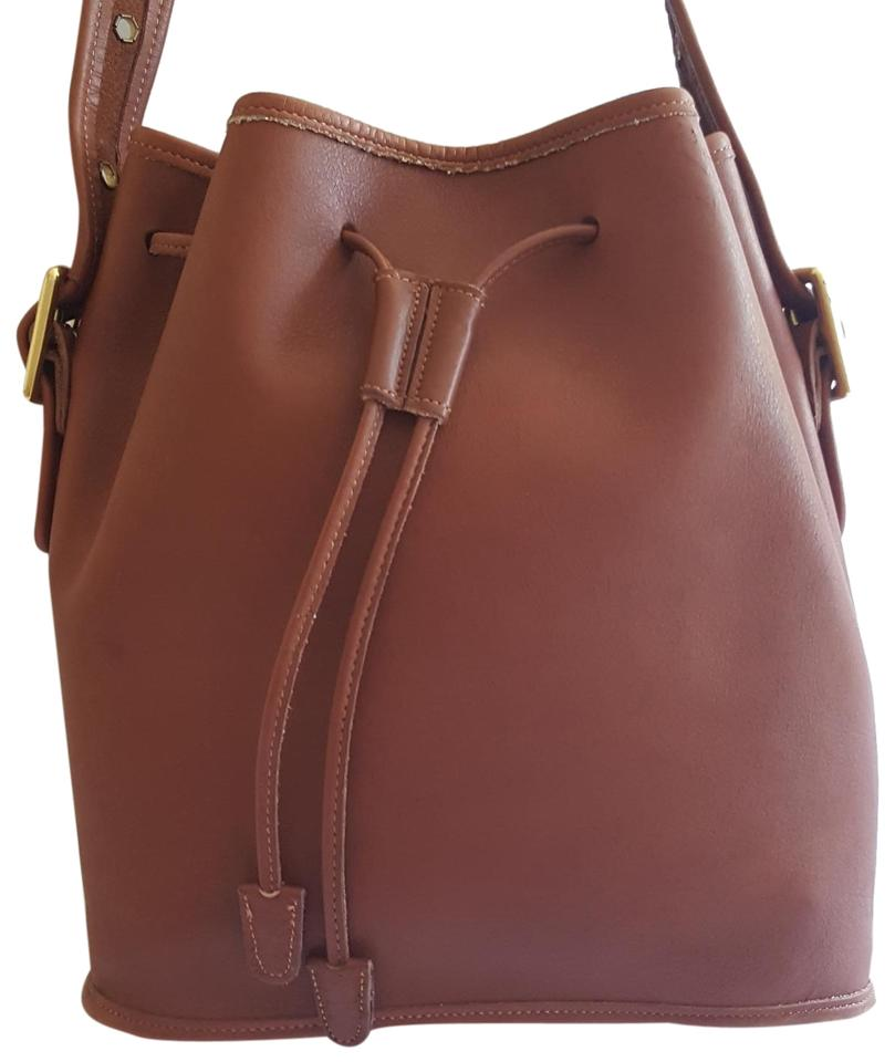 Coach Vintage Circa Mid 1990 S Purse Brown Leather Hobo Bag 70 Off Retail