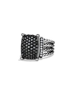 David Yurman DAVID YURMAN Wheaton Ring with Black and White Diamonds