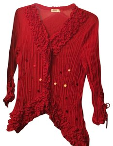 Kaelyn-Max Top Red