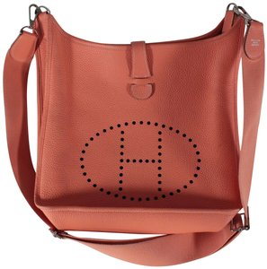 Hermès Evelyne Clemence Leather Cross Body Bag