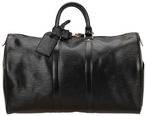 Louis Vuitton 7llvdb015 Black Travel Bag