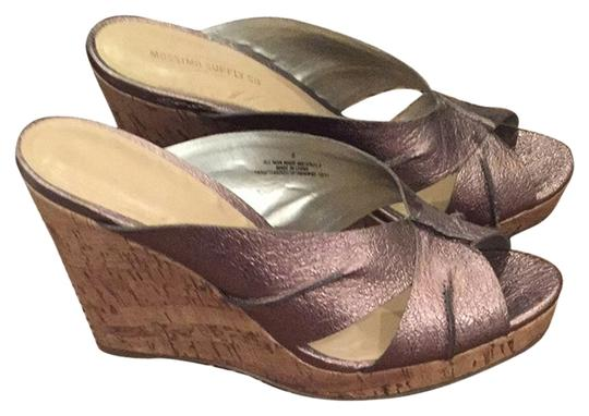 Mossimo Supply Co. Silver Wedges