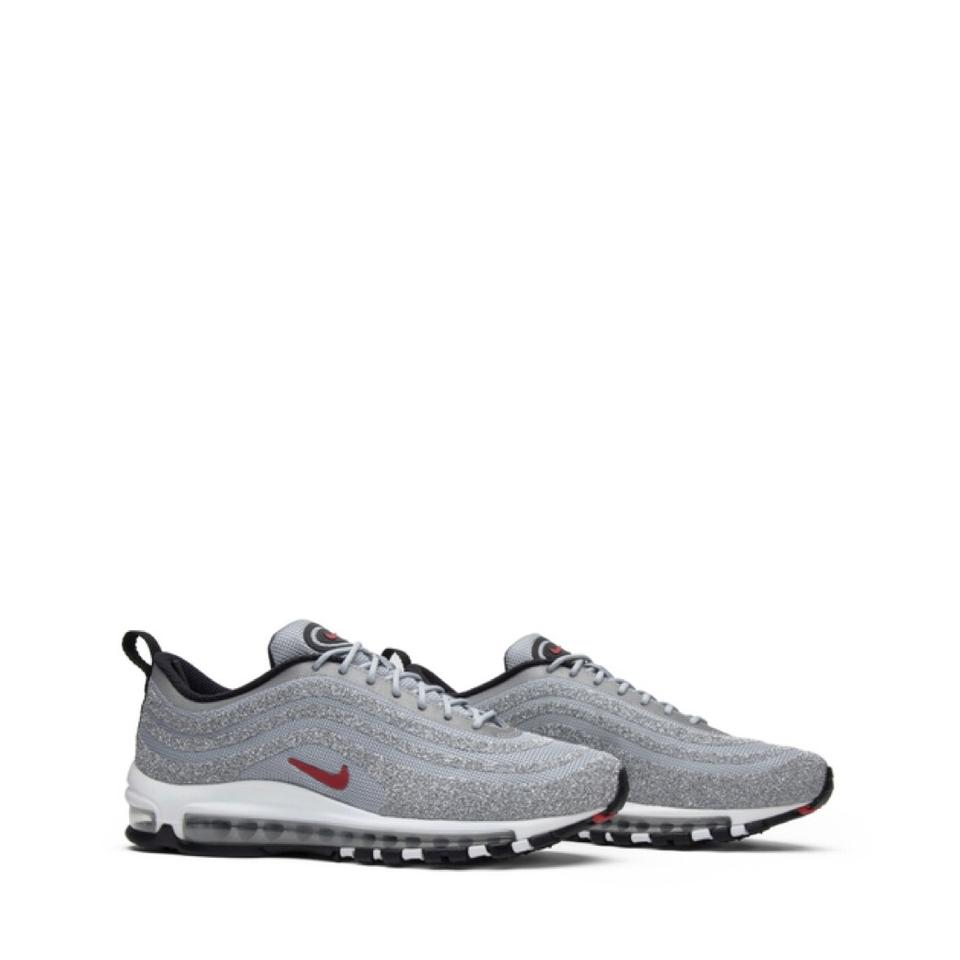 "0f45e2befca6 Nike Silver Swarovski X Wmns Air Max 97 Lx Bullet"" Sneakers Size US ..."