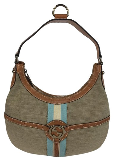 Preload https://item3.tradesy.com/images/gucci-beigeturquoise-webbing-beigeturquoise-leather-and-fabric-hobo-bag-2302152-0-2.jpg?width=440&height=440