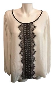 Style & Co Top Black and white
